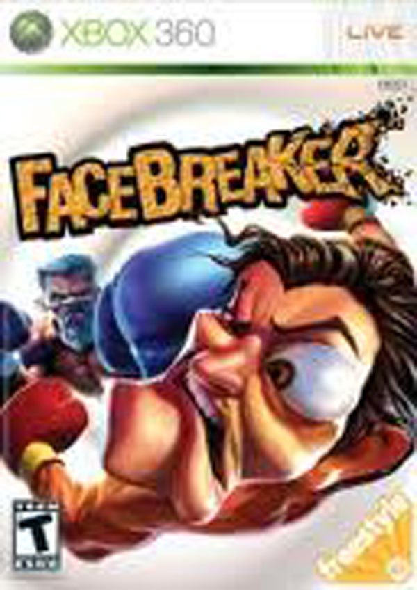 FaceBreaker Video Game Back Title by WonderClub