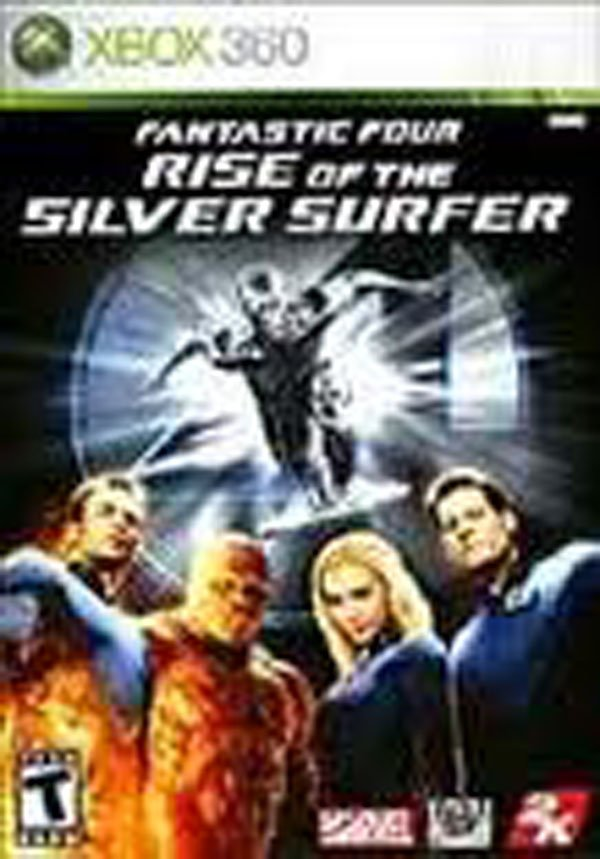 Fantastic Four: Rise Of The Silver Surfer (video Game) Video Game Back Title by WonderClub