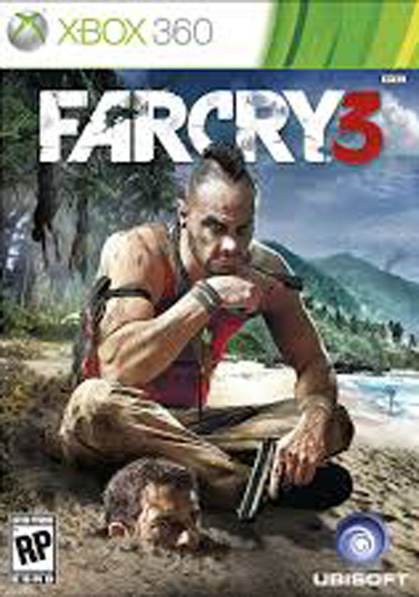 Far Cry 3 Video Game Back Title by WonderClub