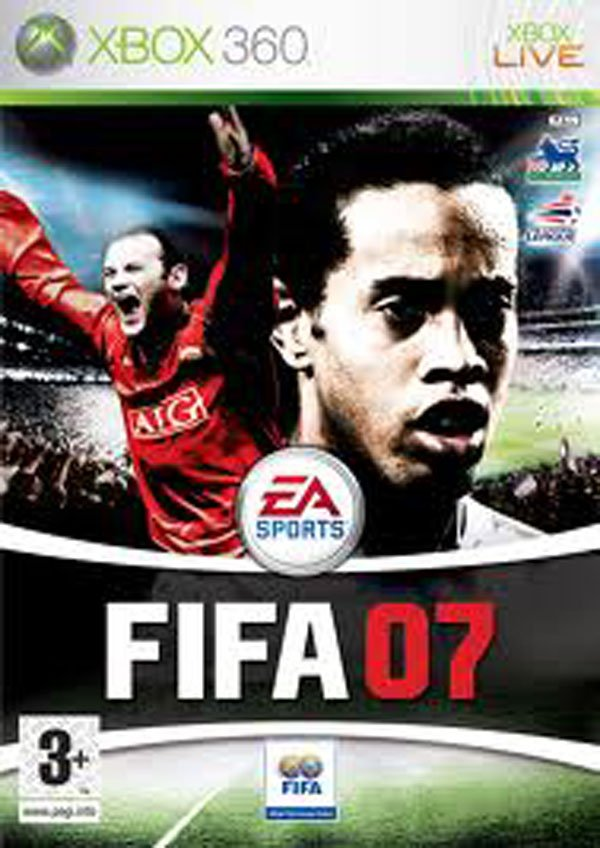 FIFA 07 Video Game Back Title by WonderClub