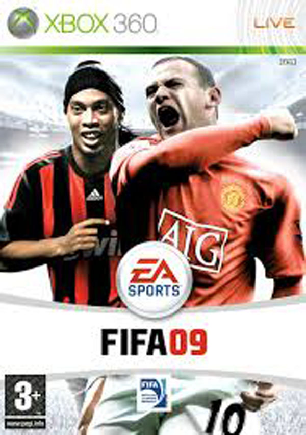FIFA 09 Video Game Back Title by WonderClub