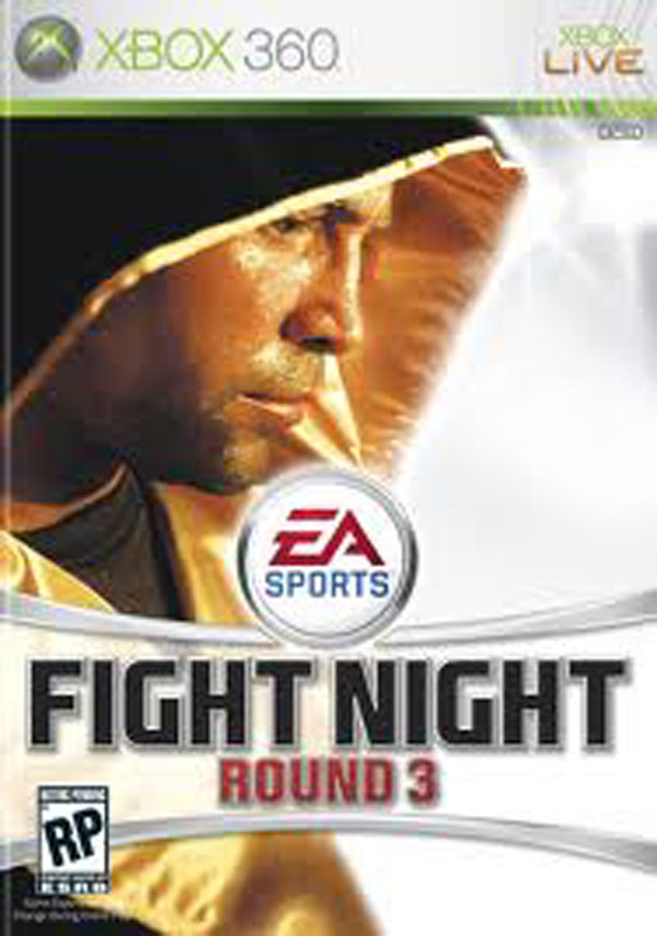 Fight Night Round 3 Video Game Back Title by WonderClub