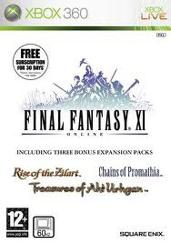 Final Fantasy XI Video Game Back Title by WonderClub