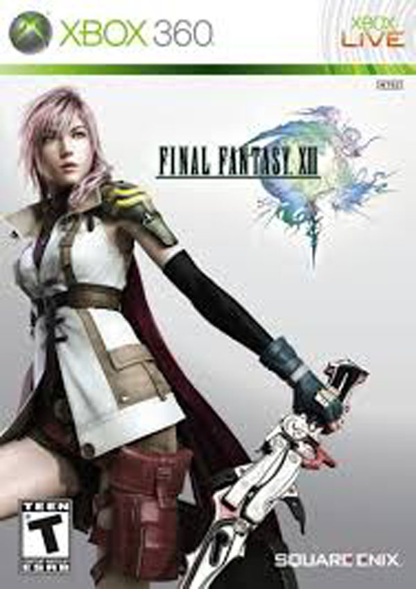 Final Fantasy XIII Video Game Back Title by WonderClub