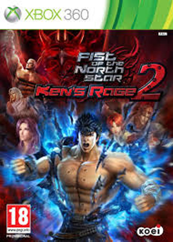 Fist Of The North Star: Ken's Rage 2 Video Game Back Title by WonderClub