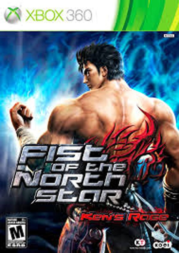 Fist Of The North Star: Ken's Rage Video Game Back Title by WonderClub