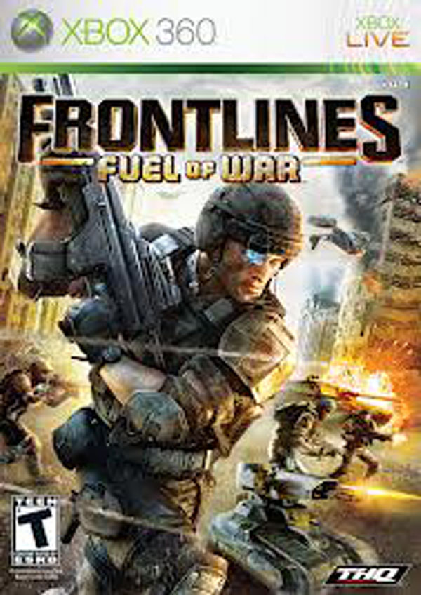 Frontlines: Fuel Of War Video Game Back Title by WonderClub