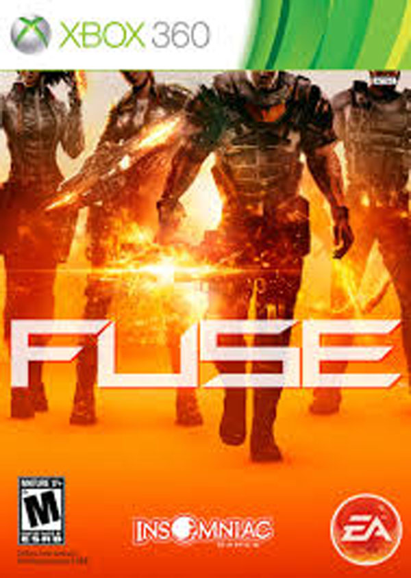 Fuse  Video Game Back Title by WonderClub
