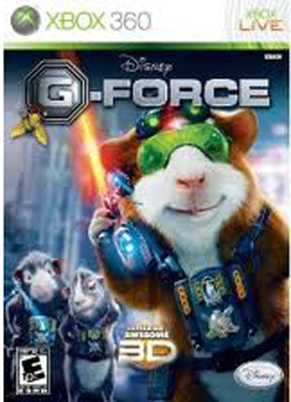 G-Force Video Game Back Title by WonderClub