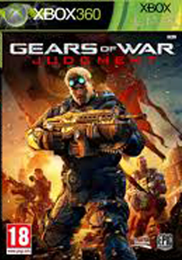 Gears Of War: Judgment Video Game Back Title by WonderClub