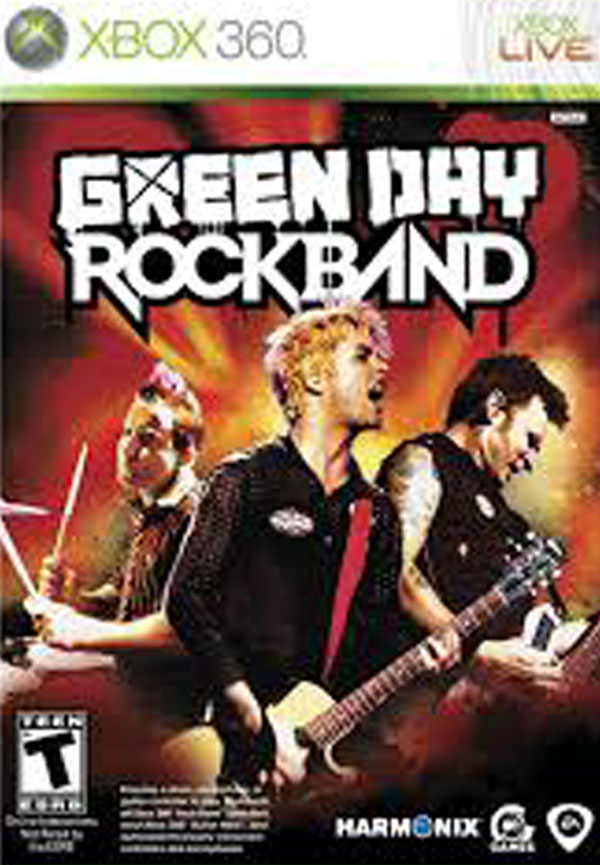 Green Day: Rock Band Video Game Back Title by WonderClub