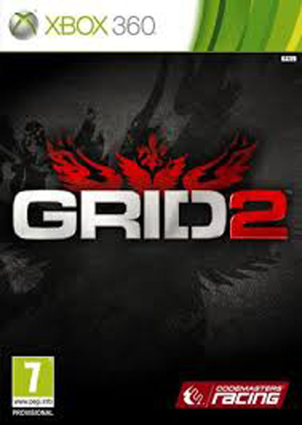 Grid 2 Video Game Back Title by WonderClub