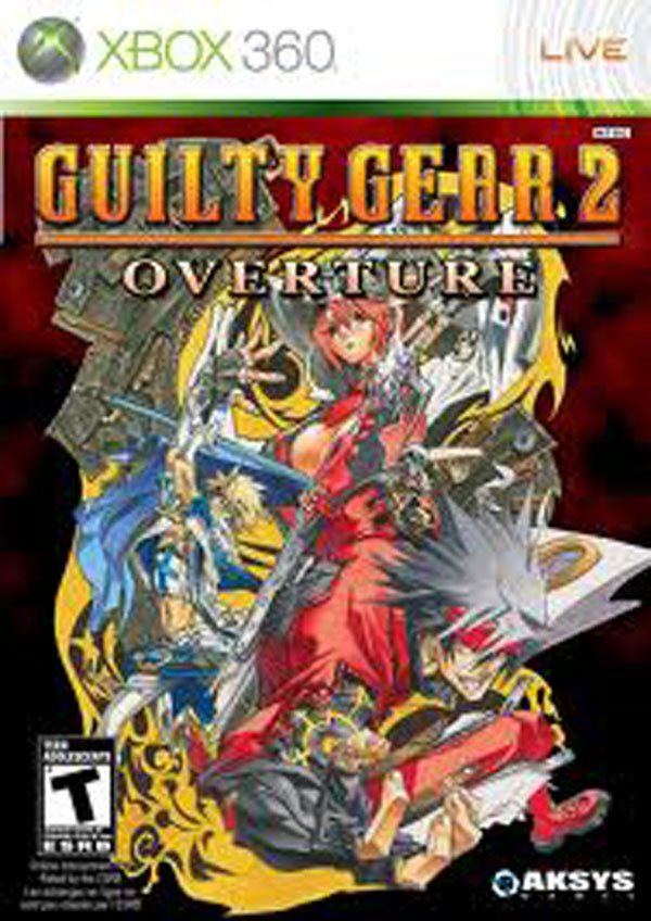 Guilty Gear 2: Overture Video Game Back Title by WonderClub