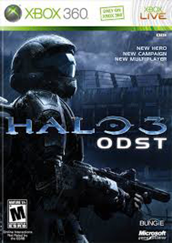 Halo 3: ODST Video Game Back Title by WonderClub