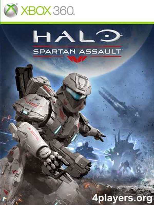 Halo: Spartan Assault Video Game Back Title by WonderClub