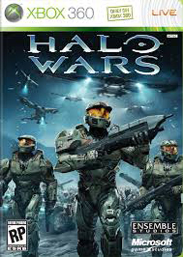 Halo Wars Video Game Back Title by WonderClub