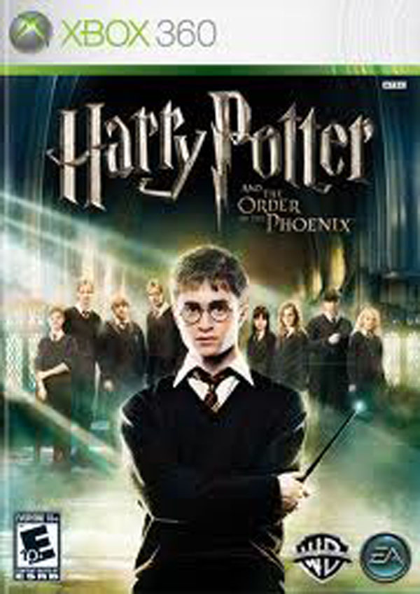 Harry Potter And The Order Of The Phoenix  Video Game Back Title by WonderClub
