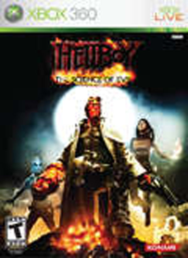 Hellboy: The Science Of Evil Video Game Back Title by WonderClub