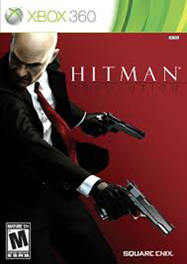 Hitman: Absolution Video Game Back Title by WonderClub