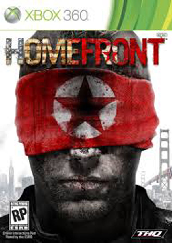 Homefront Video Game Back Title by WonderClub