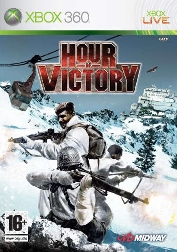 Hour Of Victory Video Game Back Title by WonderClub