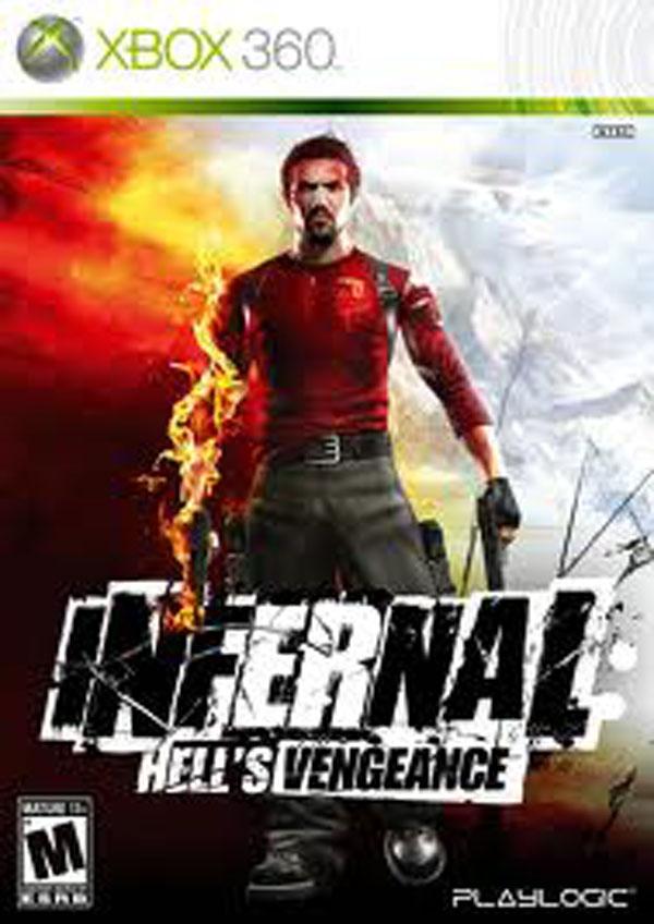 Infernal  Video Game Back Title by WonderClub