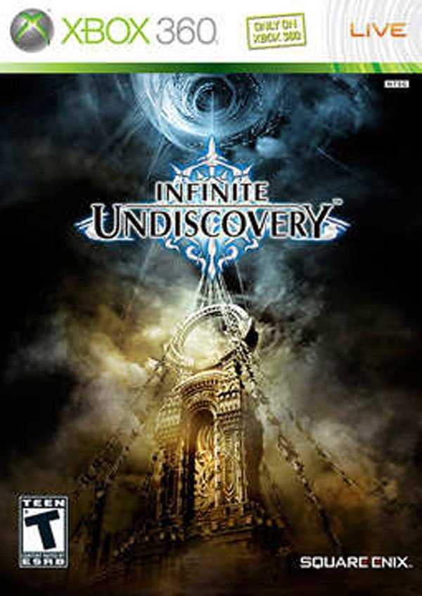 Infinite Undiscovery Video Game Back Title by WonderClub