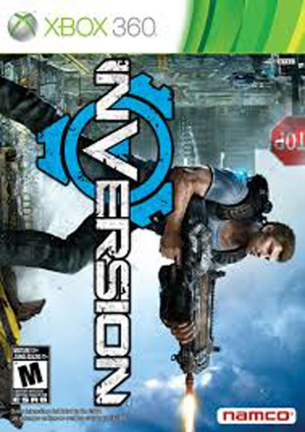 Inversion Video Game Back Title by WonderClub