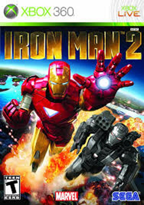 Iron Man 2 Video Game Back Title by WonderClub