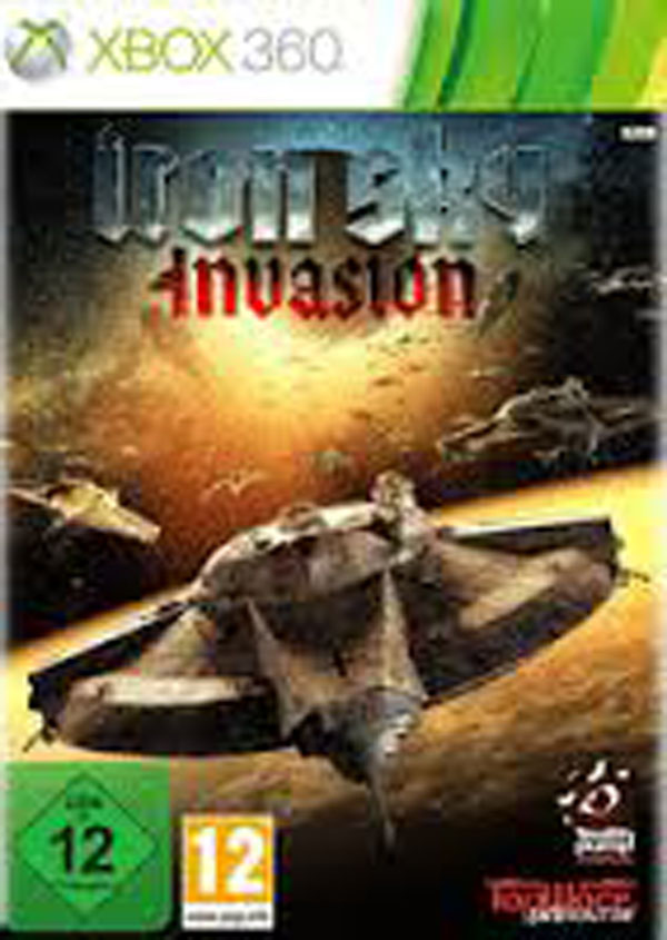 Iron Sky: Invasion Video Game Back Title by WonderClub