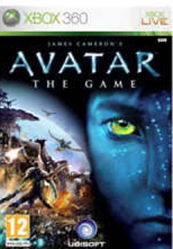 James Cameron's Avatar: The Game Video Game Back Title by WonderClub