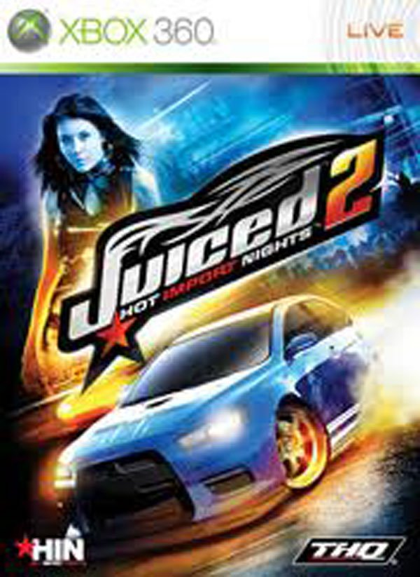 Juiced 2: Hot Import Nights Video Game Back Title by WonderClub