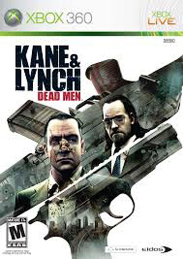 Kane & Lynch: Dead Men Video Game Back Title by WonderClub