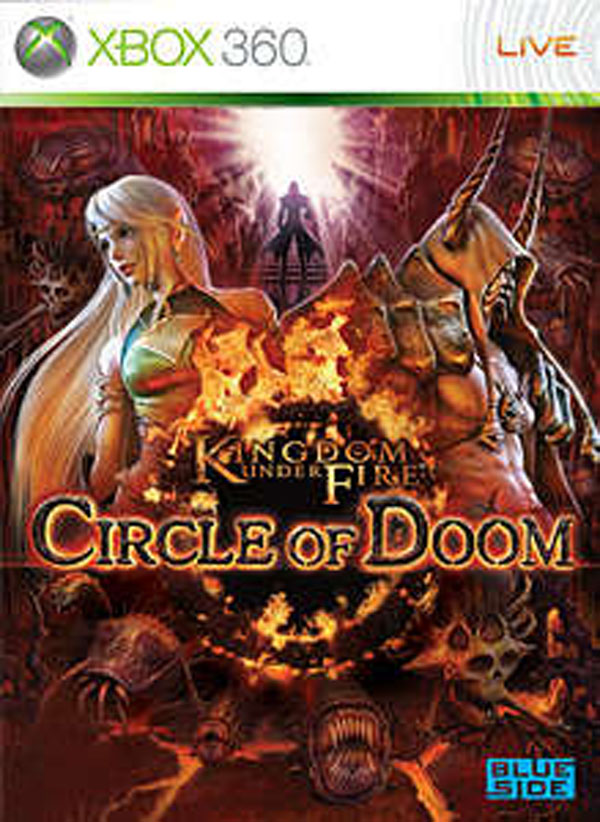 Kingdom Under Fire: Circle Of Doom Video Game Back Title by WonderClub