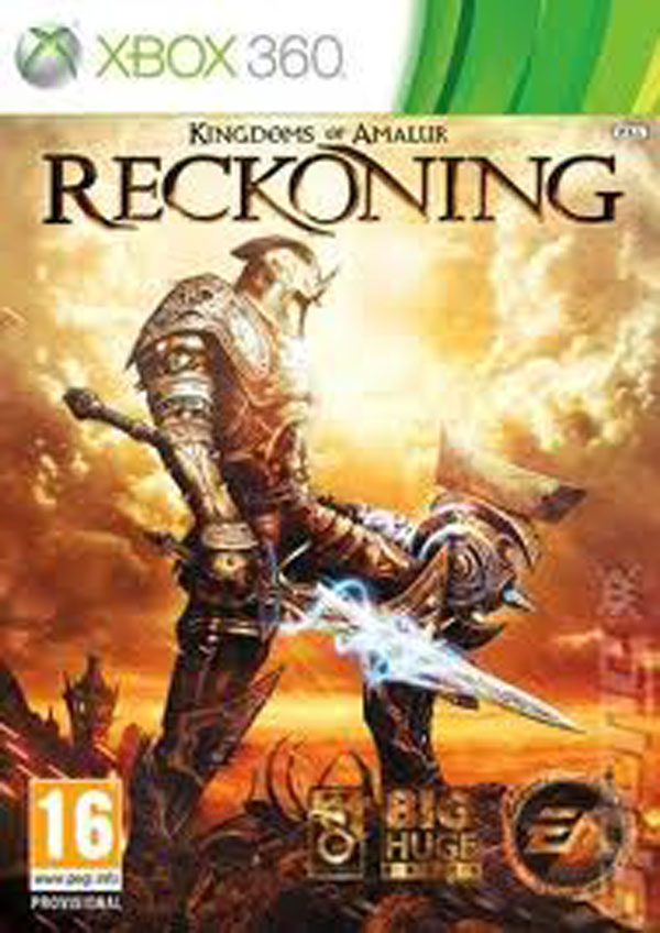 Kingdoms Of Amalur: Reckoning Video Game Back Title by WonderClub