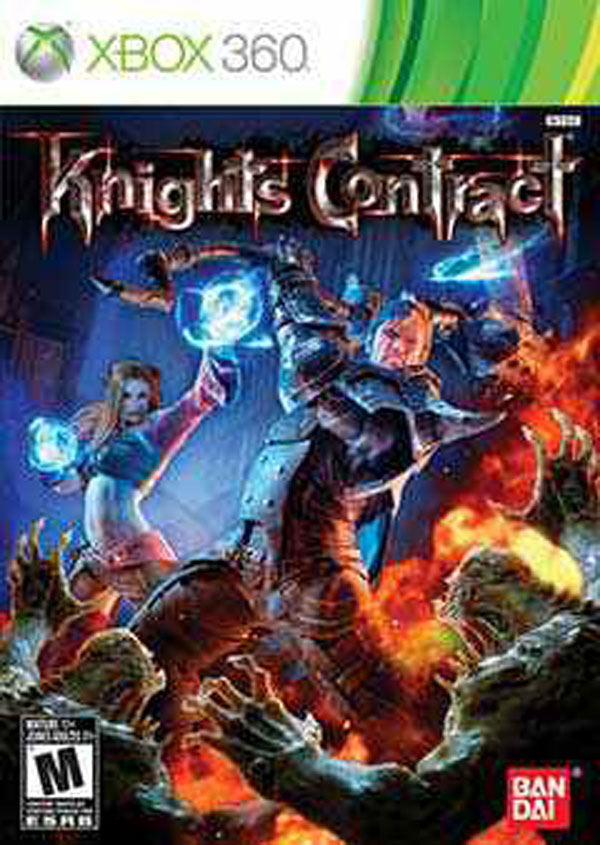Knights Contract Video Game Back Title by WonderClub