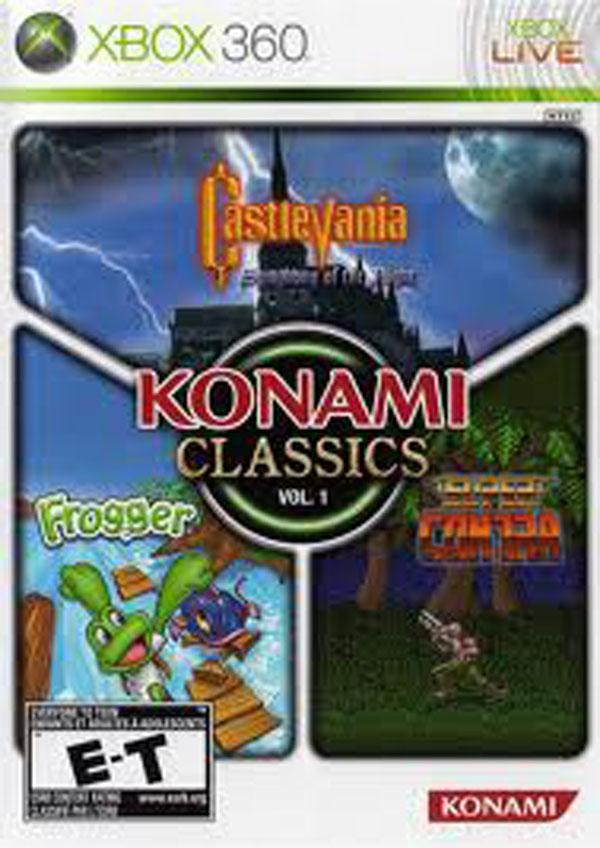 Konami Classics Video Game Back Title by WonderClub