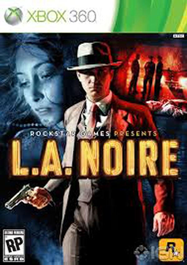 L.A. Noire Video Game Back Title by WonderClub