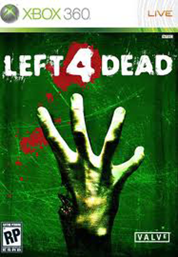Left 4 Dead Video Game Back Title by WonderClub