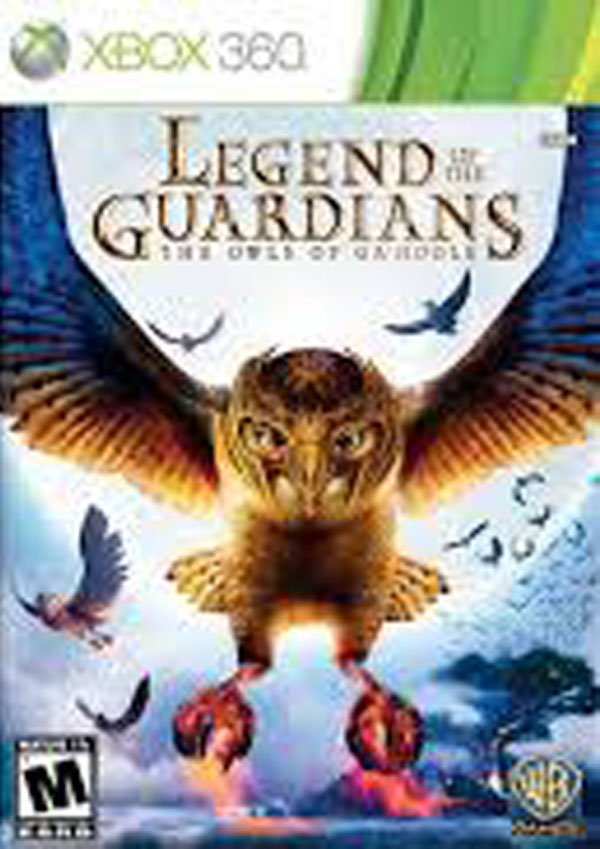 Legend Of The Guardians: The Owls Of Ga'Hoole  Video Game Back Title by WonderClub