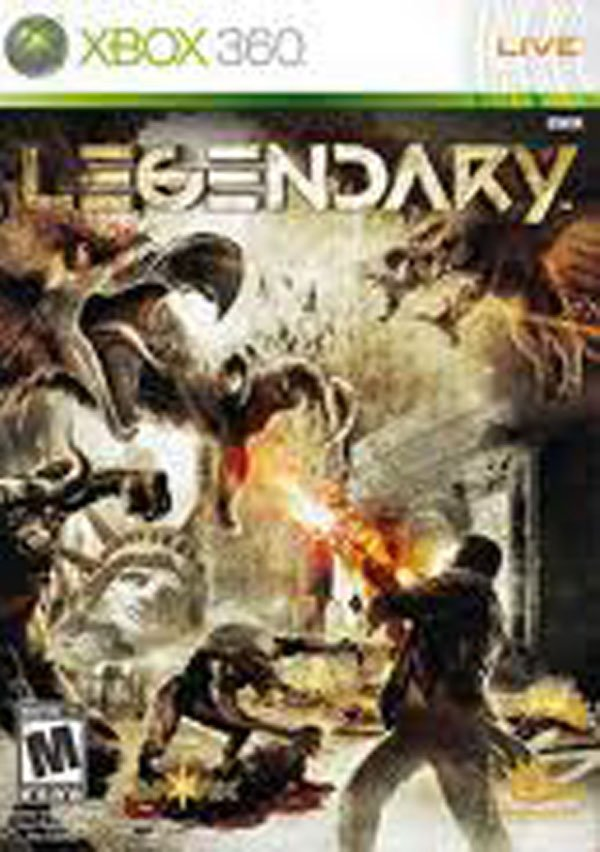 Legendary Video Game Back Title by WonderClub
