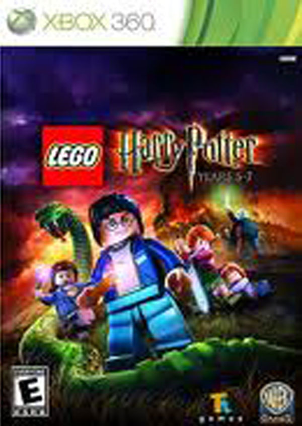 Lego Harry Potter: Years 5–7 Video Game Back Title by WonderClub