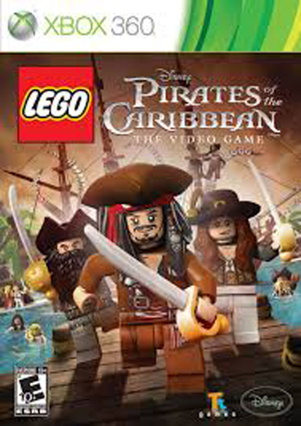 Lego Pirates Of The Caribbean: The Video Game Video Game Back Title by WonderClub