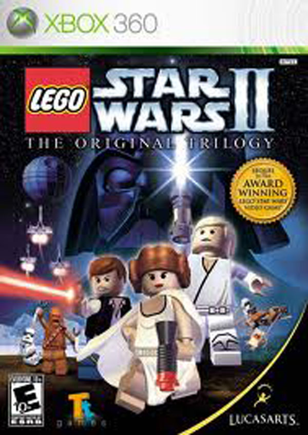 Lego Star Wars II: The Original Trilogy Video Game Back Title by WonderClub