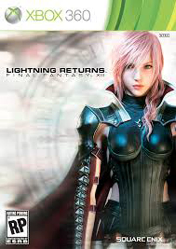 Lightning Returns: Final Fantasy XIII Video Game Back Title by WonderClub