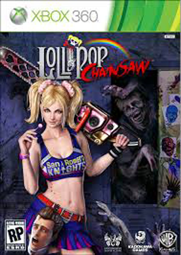 Lollipop Chainsaw Video Game Back Title by WonderClub