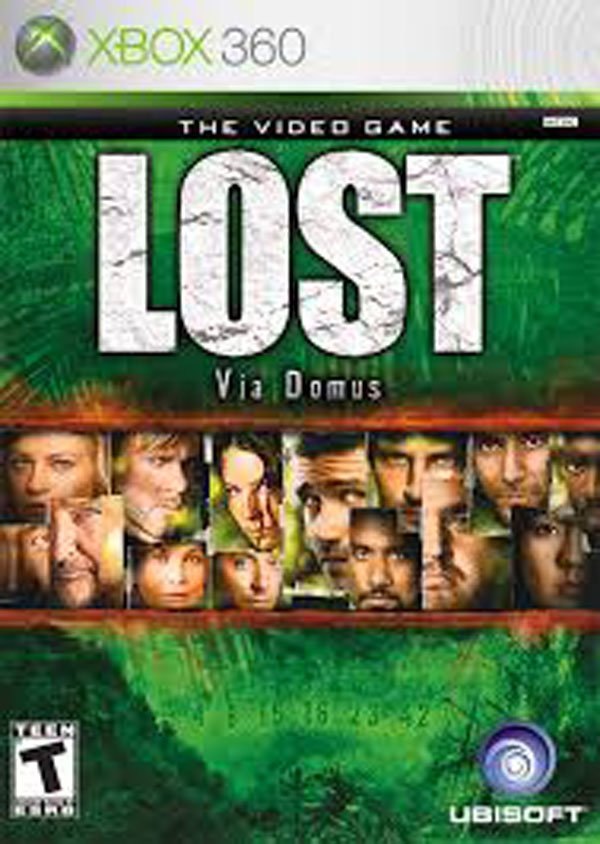 Lost: Via Domus Video Game Back Title by WonderClub