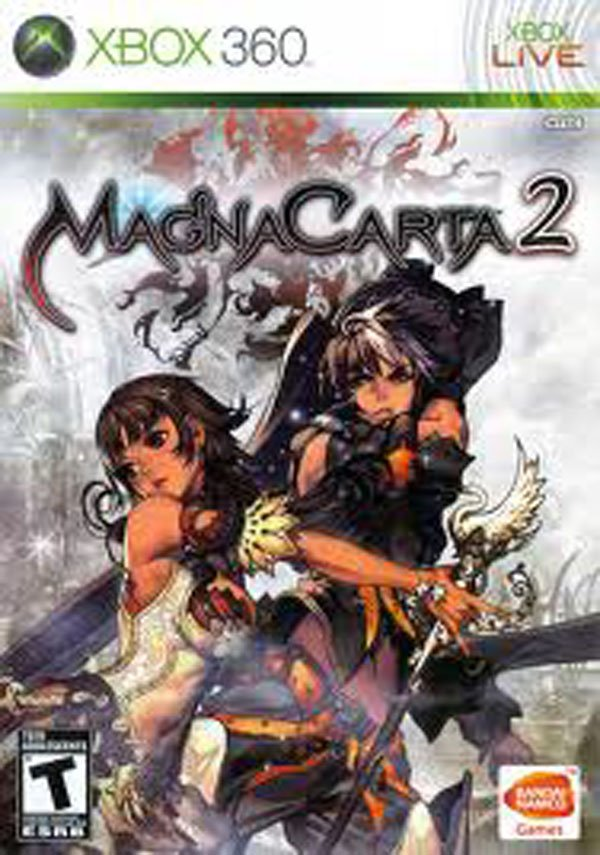 MagnaCarta 2 Video Game Back Title by WonderClub