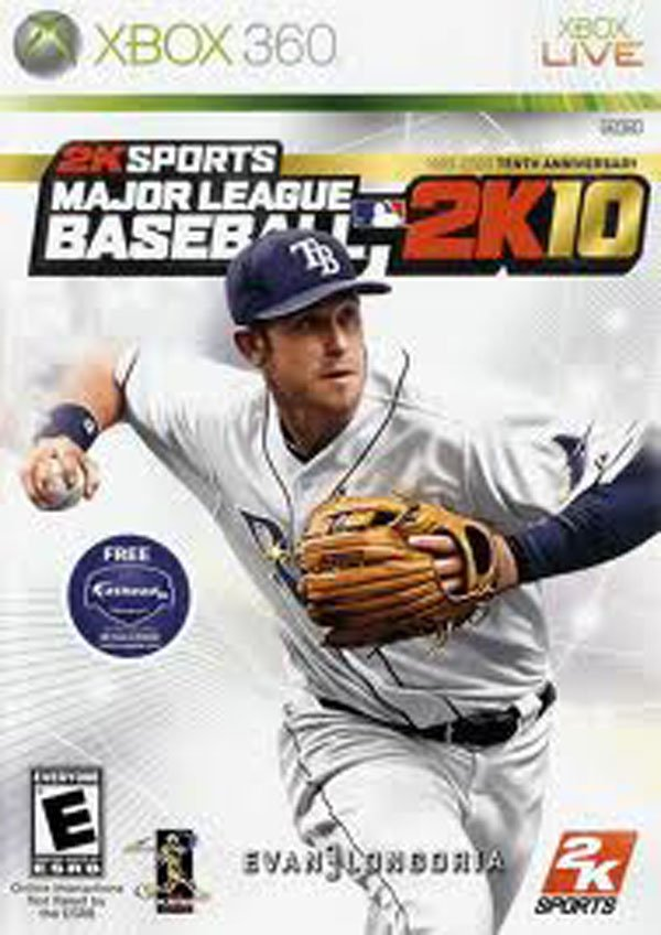 Major League Baseball 2K10 Video Game Back Title by WonderClub