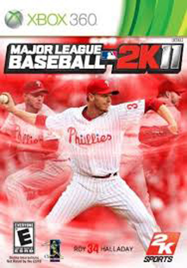 Major League Baseball 2K11 Video Game Back Title by WonderClub